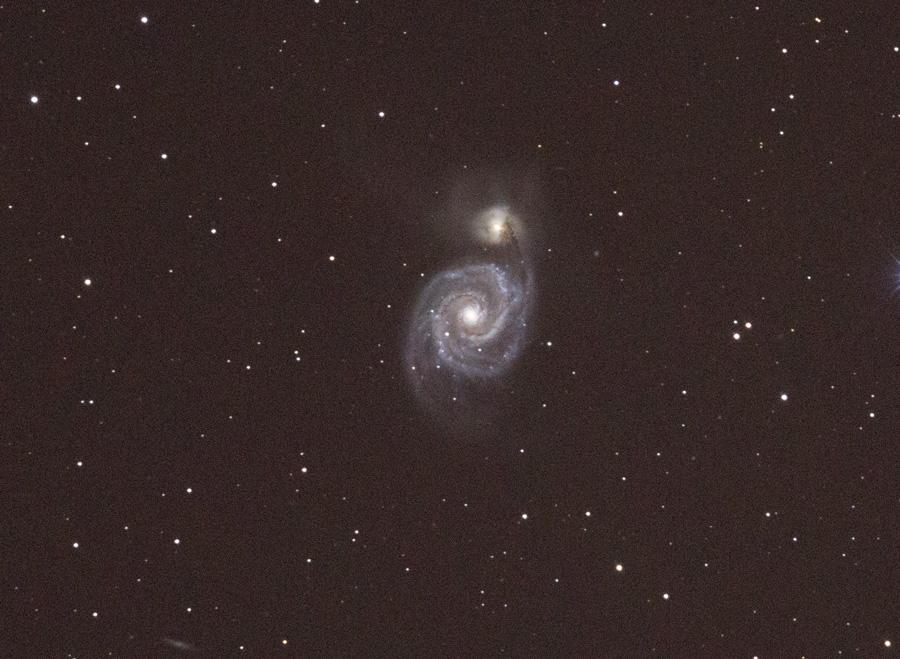 Kurzbelichtungs Probe M51 : Unsere Galerie - Das Astronomie-Forum am ...